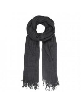 Tif Tiffy Basic Wool Scarf Black-20
