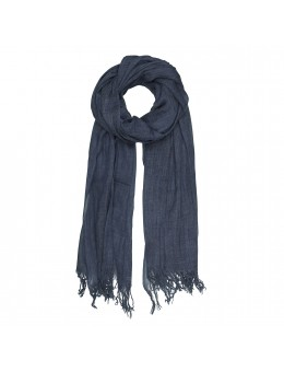 Tif Tiffy Basic Wool Scarf Navy-20