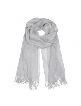 Tif Tiffy Basic Wool Scarf Light Grey-20