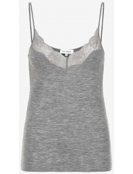 Six Ames Pixi Top C3010 Grey Melange-20