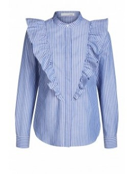 Oui 59116 Bluse Blue Striped-20
