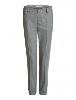 Oui 63634 Pants 9581 Grey-20