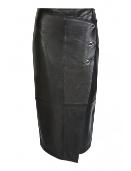 Oui 63639 Skirt 9990 Black-20