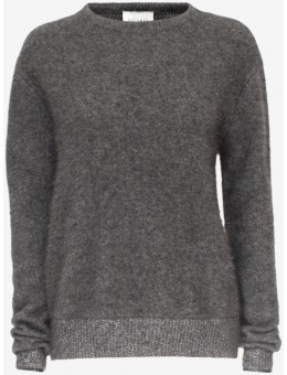 Six Ames Joie Sweater C3022 Gun Grey-20