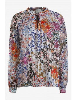 Six Ames Ditta Blouse C6115 Bold Bloom-20