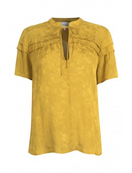 Six Ames Flore Top C3419 Mustard Flower-20