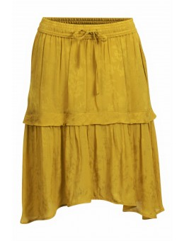Six Ames Zelia Skirt C3419 Mustard Flower-20