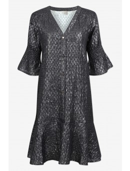 Six Ames Tallis Dress C4196 Night Shine-20