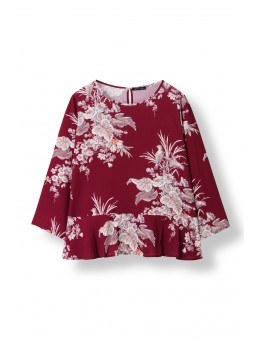 Stella Nova 81LD-BF02 Bird Flower Blouse-20