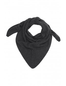 MP 96121 497 VIG Triangle Scarf Dark Grey Melange-20