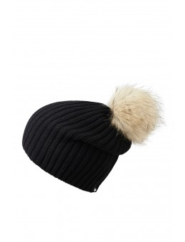 MP 96158 8 Debbie Beanie w fur Black-20