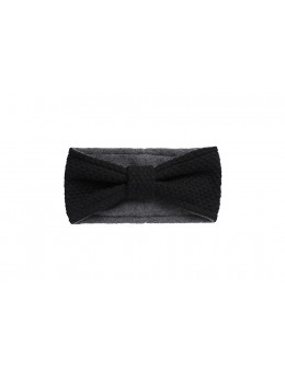 MP 97277 8 Oslo Headband w. bow Black-20