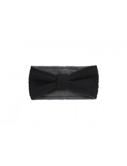 MP 97577 08 Oslo Headband w. Bow Black-20
