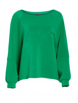 Hunkøn Bellflower Sweatshirt Green-20