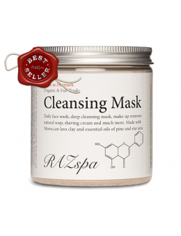 Cleansing Mask 200G – Organic and Fair Trade-20