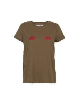 Unlimited edition Caramel Lips T-shirt Army-20