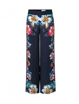 Libertine-Libertine Blonde Trousers Navy Flower-20