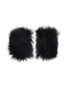 Cosy Concept Fur Clara Shoe Cuffs Black-20