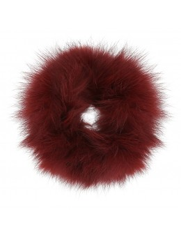 Cosy Concept Fur Hairband Wine-20