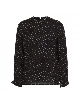 Maché Dagmar Blouse Black-20