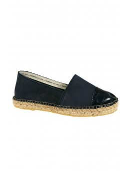 Pavement Leonora Croco Navy Leather-20