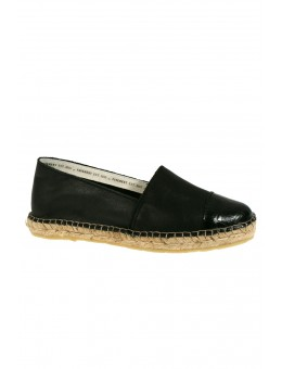 Pavement Leonora Croco Black Leather-20