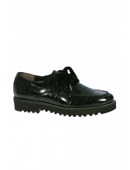 Paul Green 2629-04 Croc Black-20