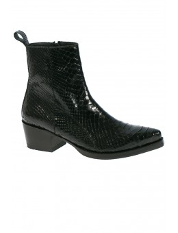 BY CJ Molly Black Python Boot-20