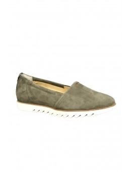 Paul Green 2324-10 Samtziege Oliv loafer-20