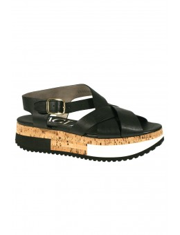 AGL 608143 Sandal Smooth Nero-20