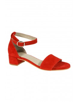 Pavement Ninna Red Suede-20