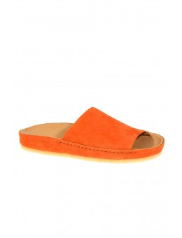 Clarks Ranger Free Orange Nubuck-20