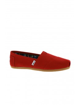 TOMS Classics Canvas Red-20