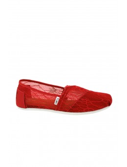 TOMS Lace Raspberry-20