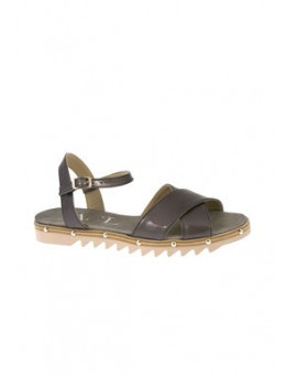 AGL 608106 Sandal Unique-Juliet Grey-Nikkel-20