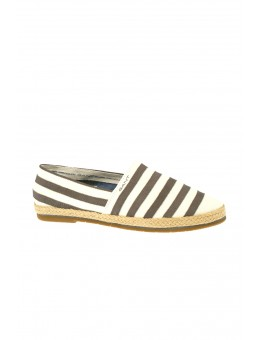 Gant Gina Stripe Cream/Silver Grey-20