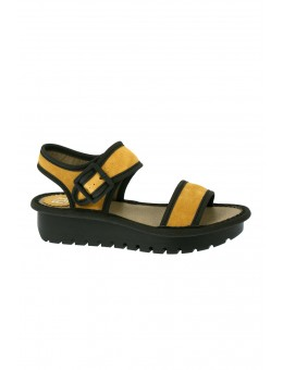 Fly London Kish Mustard Black-20