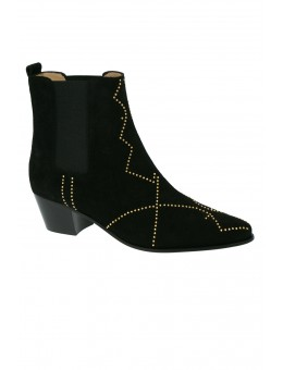 Julie Fagerholt Heartmade 923 Chelly Black Suede-20