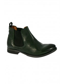 Mentor W7375 Chelsea Boot Green Leather-20