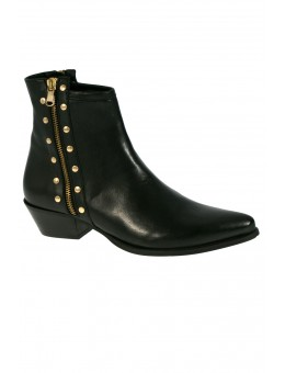 Mentor W7390 Ankle Boot Black Leather-20