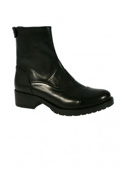 Mentor W7428 Back Zip Boot Black Leather-20