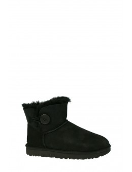 UGG Mini Bailey Button Black-20
