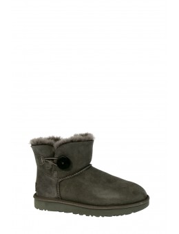 UGG Mini Bailey Button Grey-20