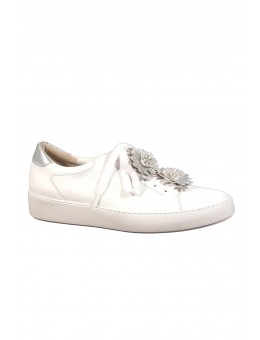 Paul Green 4654-02 Calf White/Silver-20