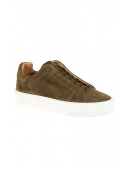 Pavement Vivi Sneaker Green Suede-20