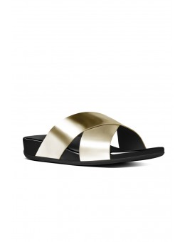 FitFlop Aix™ Slide Pale Gold-20