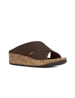 FitFlop Kys™ Leather Chocolate-20