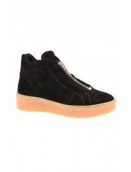 Pavement Maddie Black Suede-20