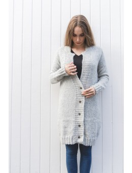 Einstakt Ronja Cardigan Light Grey-20