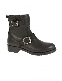 Pavement Olivia Wool Black Leather-20